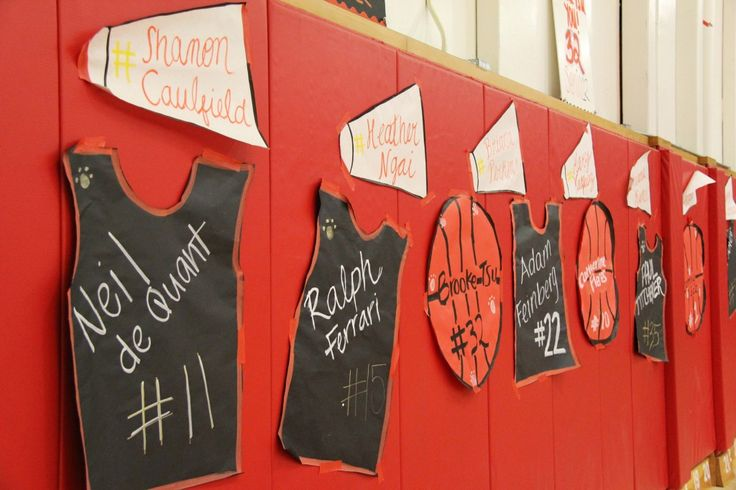 35 Best Images About Basketball Senior Night Ideas On