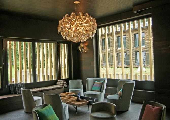 Interior design project by Casamilano project division @ Superior Hotel Rovanada, Switzerland