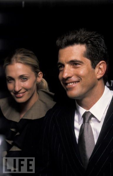 The couple attend an event in New York, May 1999.
