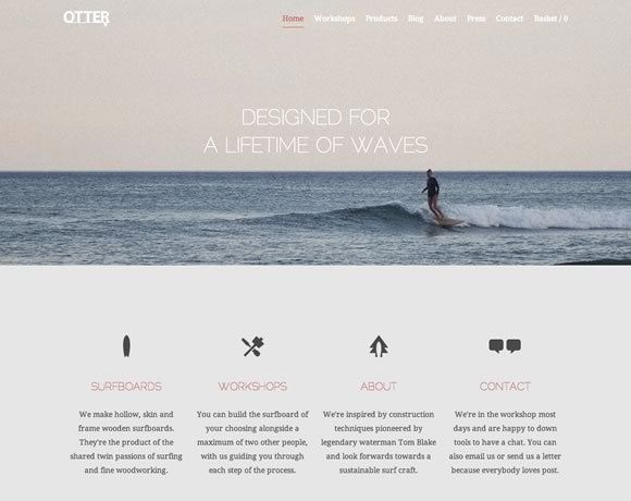 layout & photography   ///  21 Clean Web Design Layouts