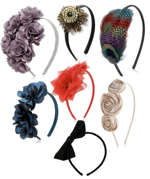 Headbands can be more effective at holding the fascinator in place and can be hidden within the hair. bing.com