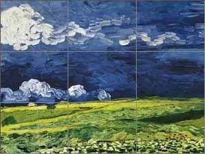 Règle des tiers - Van Gogh
