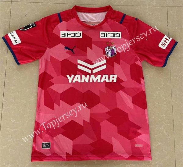 2021-2022 Cerezo Osaka Home Red in 2021 | Soccer jersey, Cerezo ...
