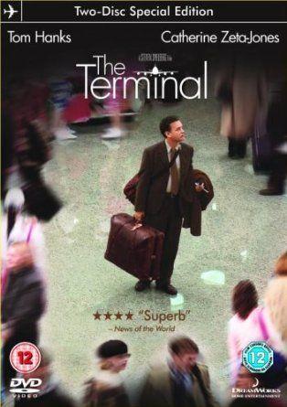The Terminal [DVD] (2004): Amazon.co.uk: Tom Hanks, Catherine Zeta-Jones, Stanley Tucci, Chi McBride, Diego Luna, Zoe Saldana, Michael Nouri, Steven Spielberg: Film & TV