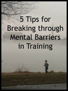 Breaking through the mental barriers in training
