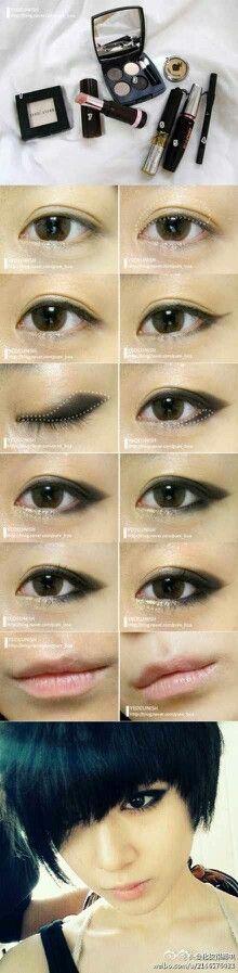 Asian smoky eye tutorial