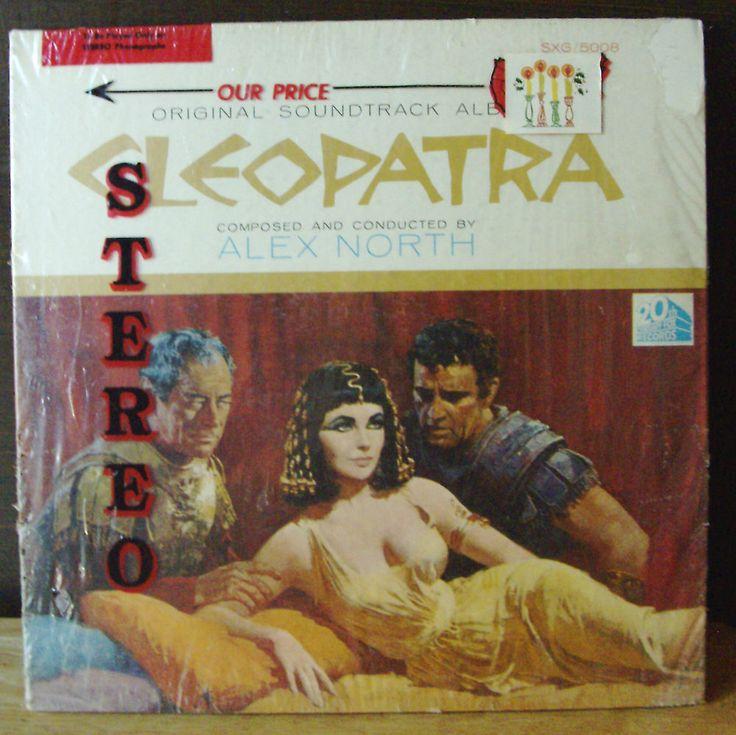 CLEOPATRA ORIGINAL 1963 MOVIE SOUNDTRACK-- 2OTH C FOX RECORDS LP SXG-5008 #