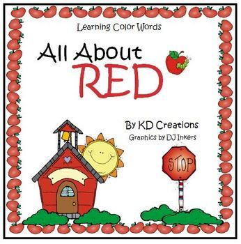 Help your young students learn the color word red. This is one color from the Kd Creations Learning Color Words unit. These are classroom tested activities which teach the color words in a fun, effective way. Included for the color word red are color copies of: *red song *red poem *red poster *red chart cards Also included are printable copies of: *puzzle *word scramble *word search *cut and paste activity *word match *folded book to take home