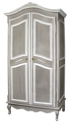 nursery necessities armoires gustave grey armoire at poshtots - Armoire Bebe Winnie Lourson