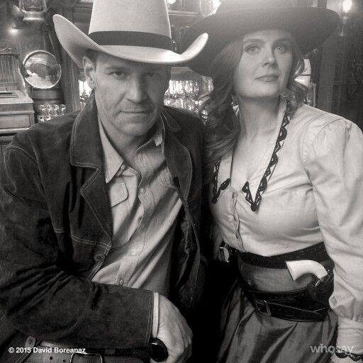 Buck and Wanda...Bones season 11