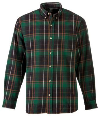 RedHead Ultimate Flannel Shirts for Men - Green/Black - XLT