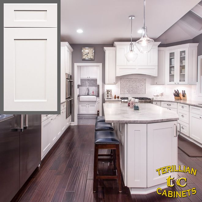 Ice White Shaker Cabinets In 2020 Online Kitchen Cabinets Rta Kitchen Cabinets Kitchen Cabinets