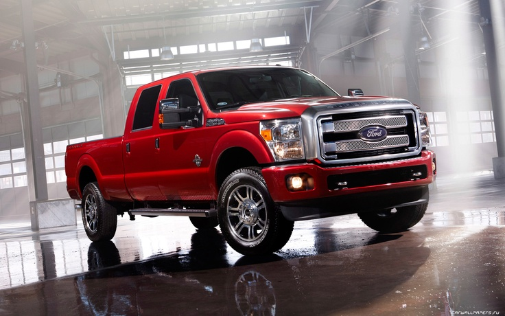 Ford F250 Super Duty Platinum 2013