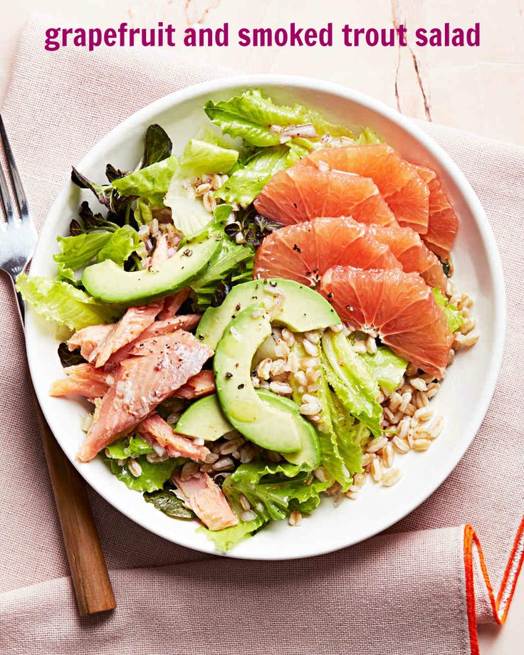 This grapefruit and smoked trout salad is an all-in-one meal packed with flavor.