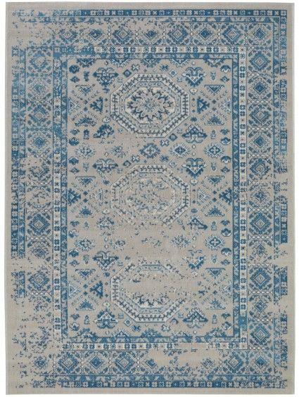 Teppich Antique Blau