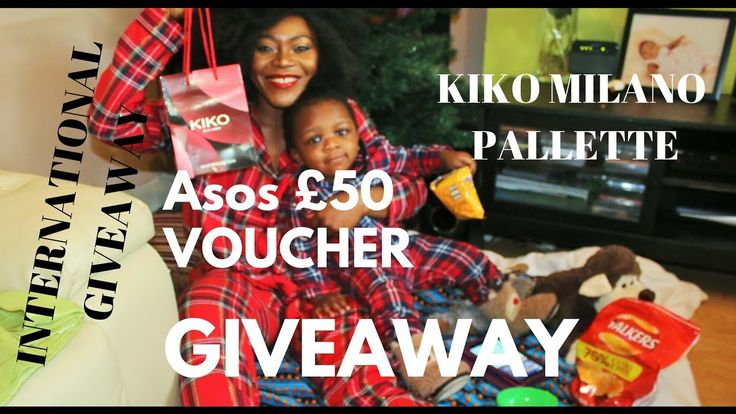 PYJAMA PARTY X INTERNATIONAL GIVEAWAY (ASOS VOUCHER + 3 KIKO MILANO PALL...