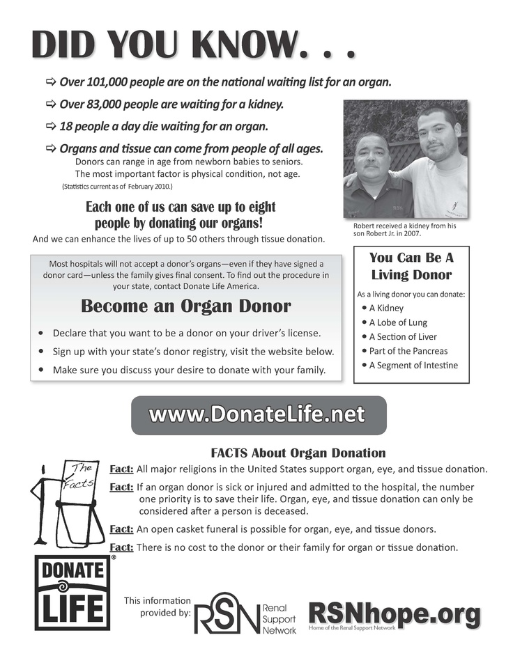Help Us Save 16 Lives a Day Through Living Donation