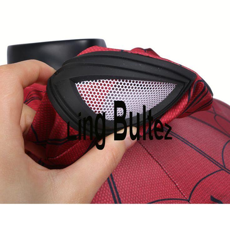 Aliexpress.com: Comprar Ling Bultez Alta Calidad Nuevo Capitán América Spiderman Cosplay Traje de Spiderman Spider Man Traje de Tom Holland Guerra Civil de spiderman costume fiable proveedores en Ling Bultez -High Quality Costume Store