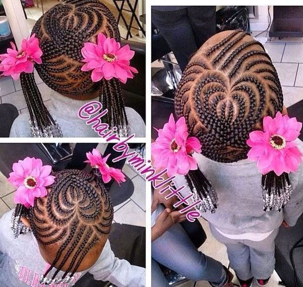 We love creative cornrow designs for kids and teenagers. Check out our gallery of 14 styles we are loving today