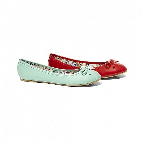 Pitta rosso ballerine rosse catalogo primavera estate 2014 Scarpe Online