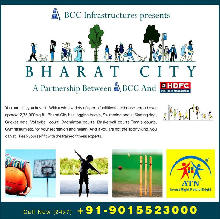 ATN Infratech introduces Homes for Common People in Bharat City Ghaziabad Inspired on the concept of People First, Bharat City Ghaziabad offers lavish homes in budget prices. The residential project is a joint partnership of BCC Group and HDFC PMS offering 5000 units in 4 choices of 2/3 BHK flats in floor plans of 630 sq. ft. to 800 sq. ft.
