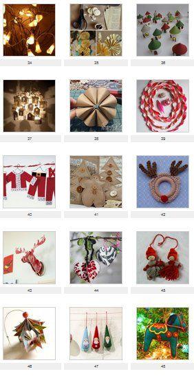 17 migliori idee su decorazioni natalizie su pinterest - Idee x decorare l albero di natale ...