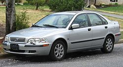 Volvo S40 versión 2002