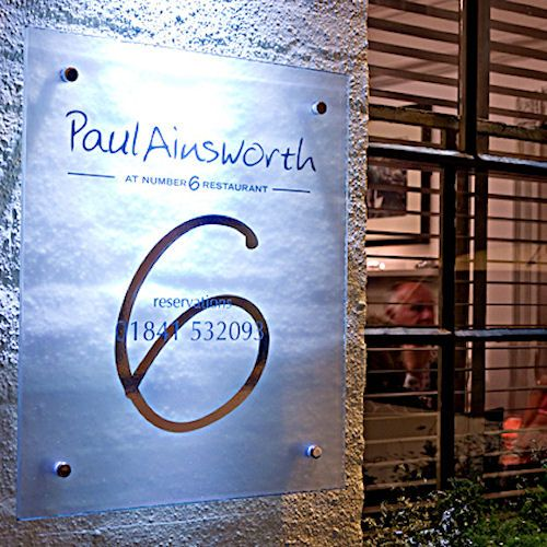Paul Ainsworth at Number Six | The Luxury Restaurant Guide