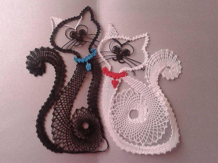 Dve macicky:) / margitkabb - SAShE.sk - Handmade Obrázky