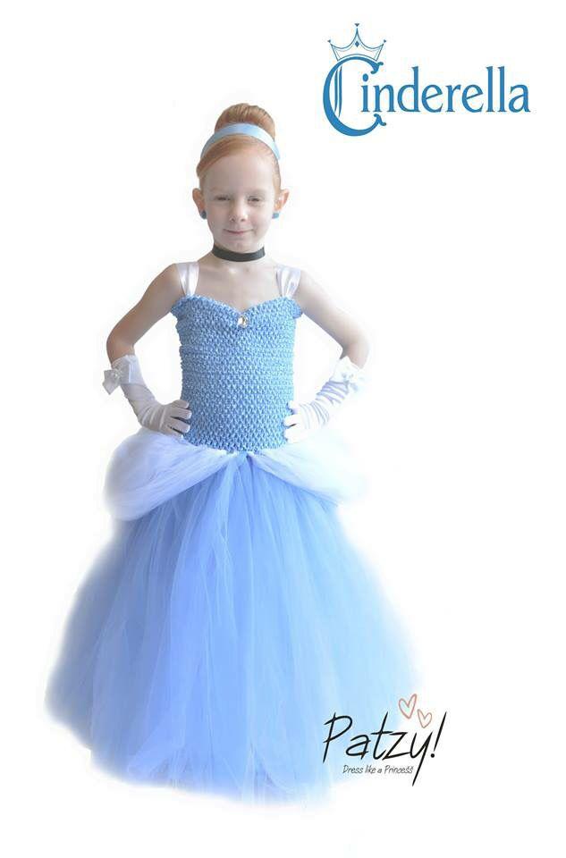 Assepoester jurk / Cinderella Dress made by Patzy! www.patzy.nl & www.facebook.com/patzydresses