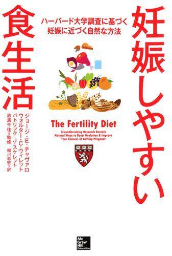 妊娠しやすい食生活 ハーバード大学調査に基づく妊娠に近づく自然な方法   ジョージ・E・チャヴァロ http://www.amazon.co.jp/dp/4532605342/ref=cm_sw_r_pi_dp_T5uvxb003VC4P