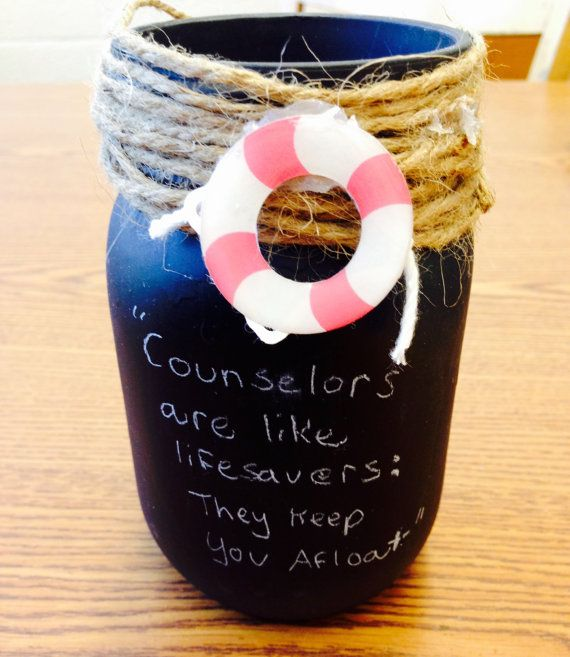 counselor appreciation jar with lifesavers by Kerbears on Etsy