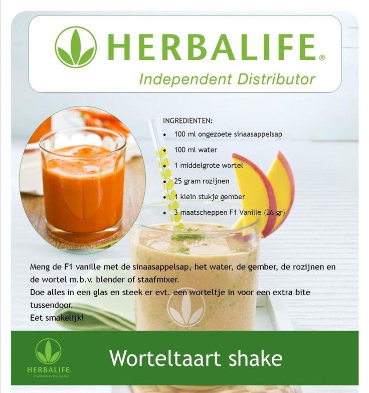 Worteltaart shake