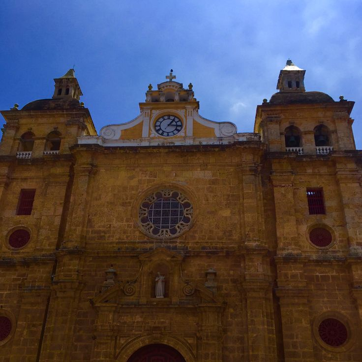The Iglesia de San Pedro Claver church - Cartagena de Indias - Colombia.