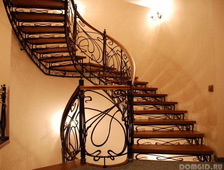 Картинки по запросу кованые лестницы в доме