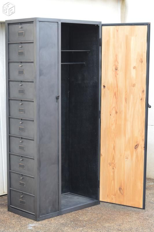 les 25 meilleures id es de la cat gorie armoire vestiaire. Black Bedroom Furniture Sets. Home Design Ideas