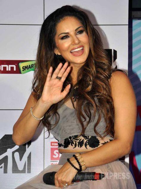 Sunny Leone at a MTV Splitsvilla 8 event. #Bollywood #Fashion #Style #Beauty