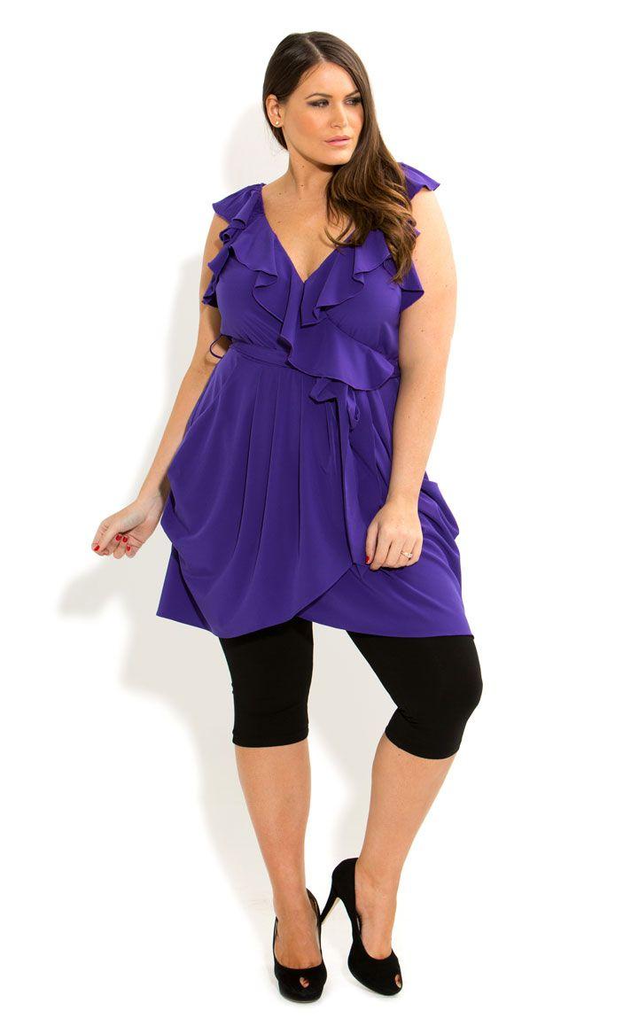 Plus Size Tunic Tops With Leggings - Plus Size Masquerade Dresses