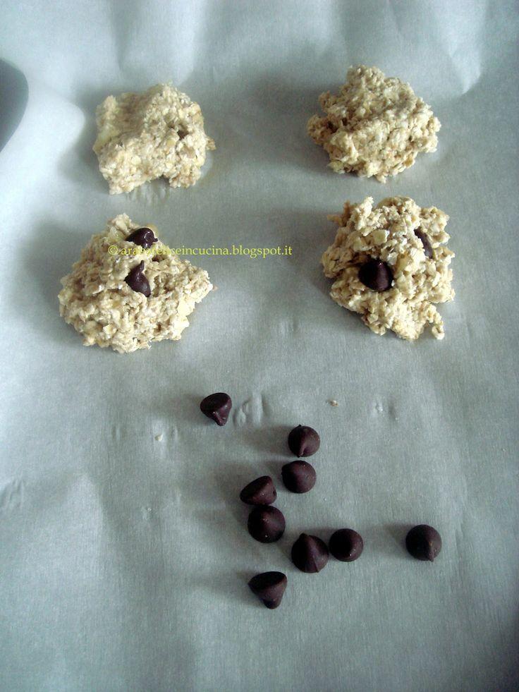 Arabafelice in cucina!: Biscotti furbissimi di avena e banana (senza farina, burro, zucchero, lievito nè uova)