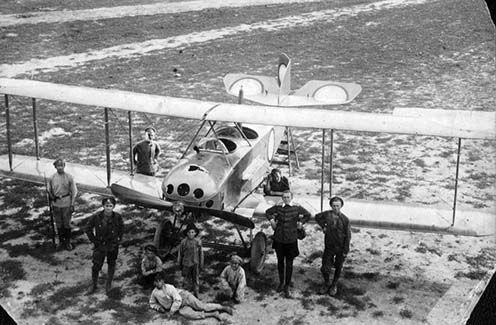Az orosz Anatra gyár által gyártott Anade repülőgép az első világháború idején