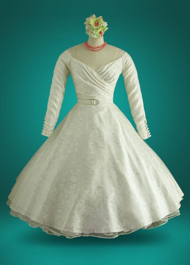 190 best unique vintage wedding dresses images on for Best vintage wedding dresses
