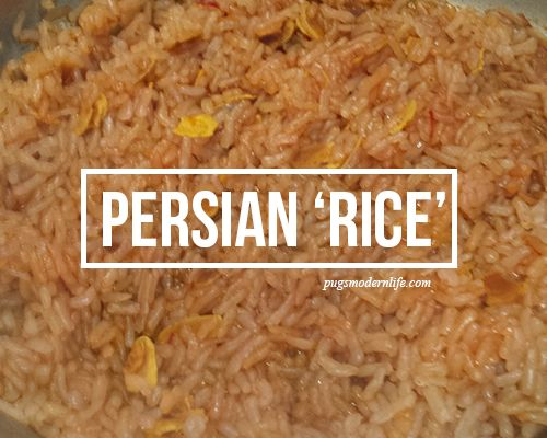 Persian 'rice'