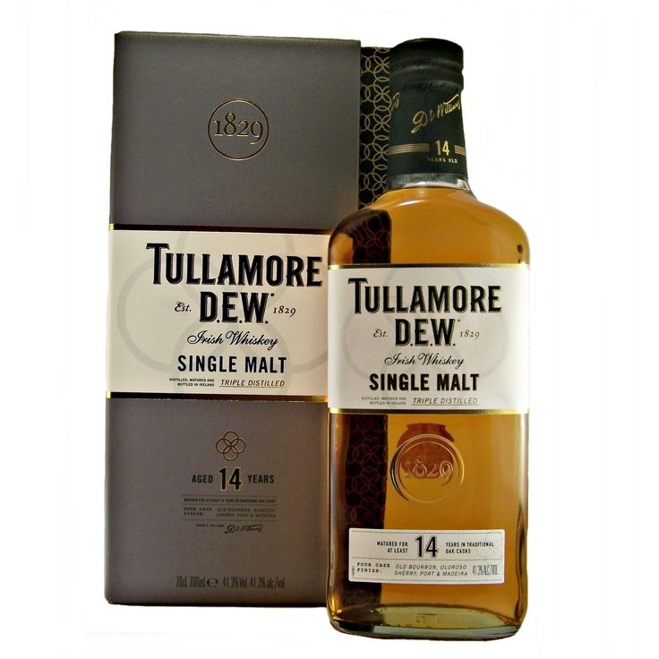 Tullamore 14 year old Single Malt Irish Whiskey triple distilled available to buy online at specialist whisky shop whiskys.co.uk Stamford Bridge York
