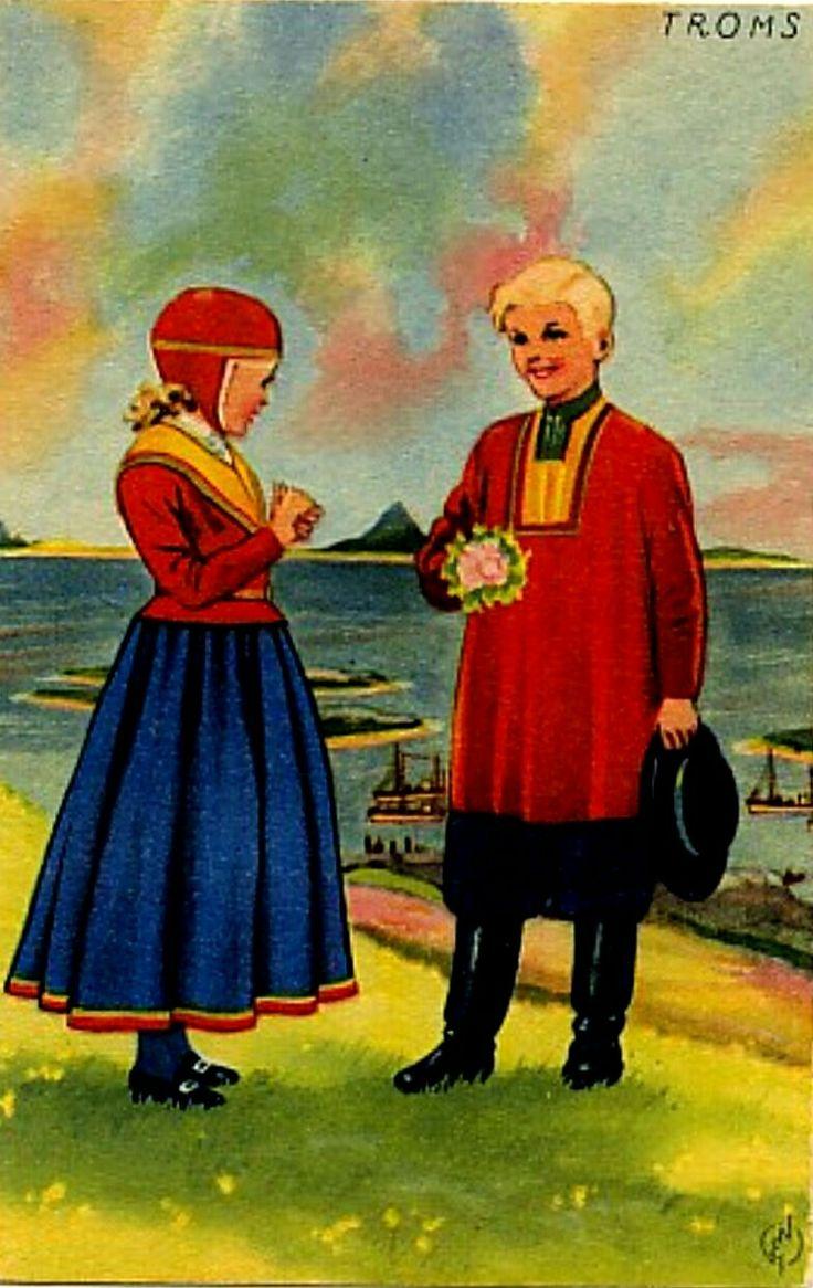 Bunadskort Erling Nielsen Troms