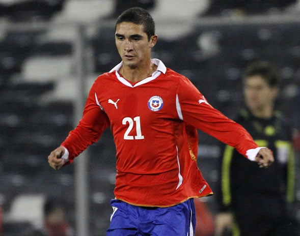 GUTIÉRREZ, Felipe   Midfield   FC Twente (NED)   @feligutierrezUC   Click on photo to view skills