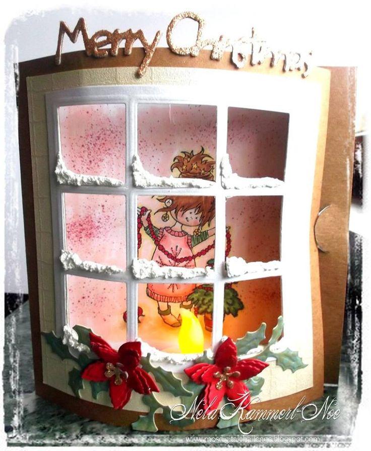 Marianne Design Kreadiva´s: Challenge # 5 Weihnachten mit Snoesjes und Don&Daisy
