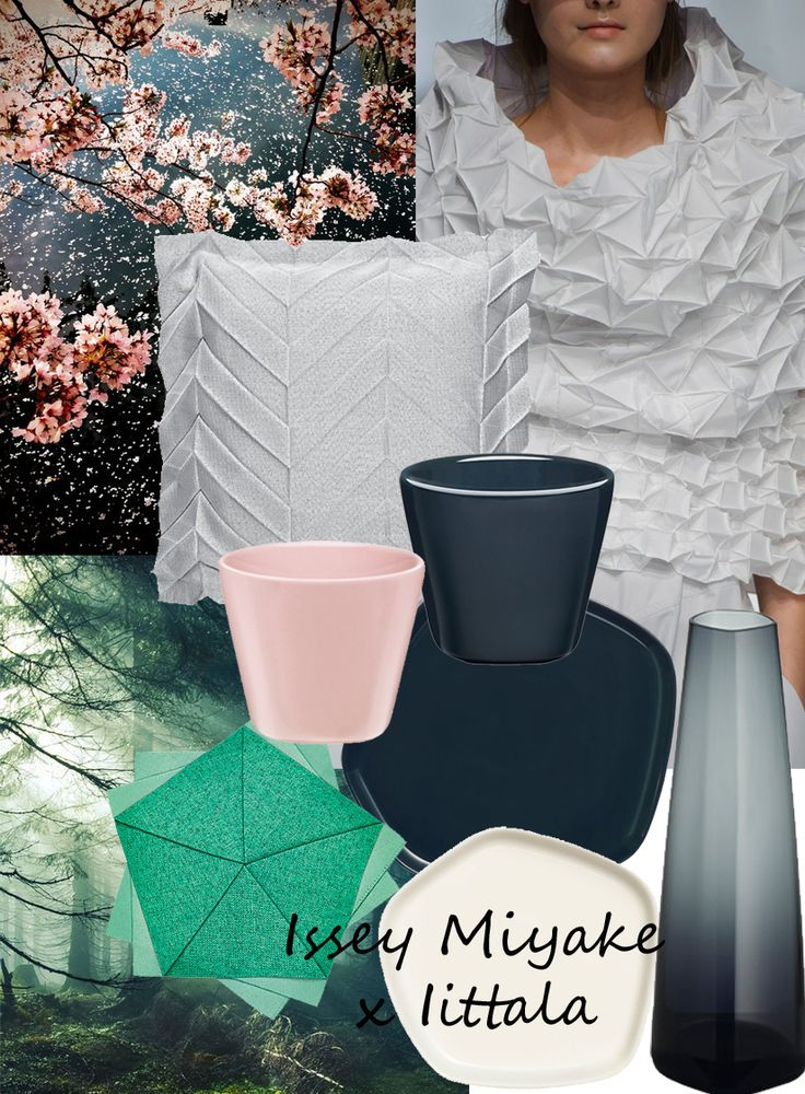Wisuella: Issey Miyake x Iittala  