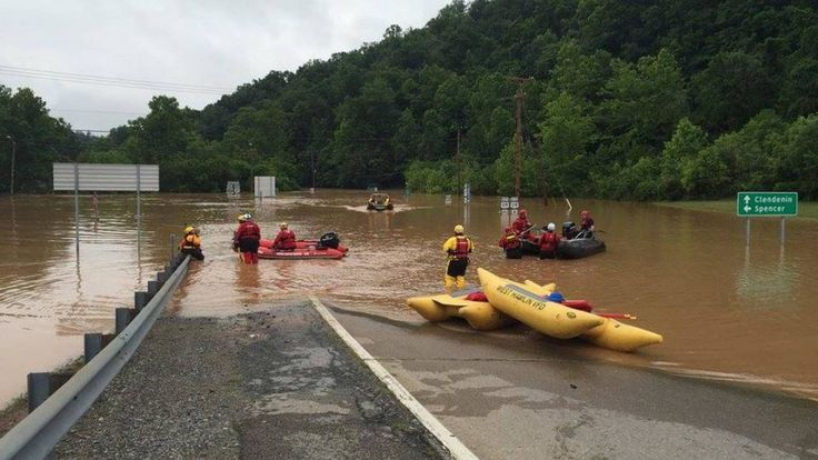 In West Virginia, at least 23 people have died in once-in-a-thousand-year flooding. West Virginia Governor Earl Ray Tomblin has declared a state of emergency in 44 counties and has deployed the National Guard to help with search and rescue efforts. A number of people remain missing across the state. The severe rainfall inundated large parts of the town of Richwood, submerging cars and the first floors of many houses and businesses. We speak with Bob Henry Baber, the mayor-elect of Richwood…
