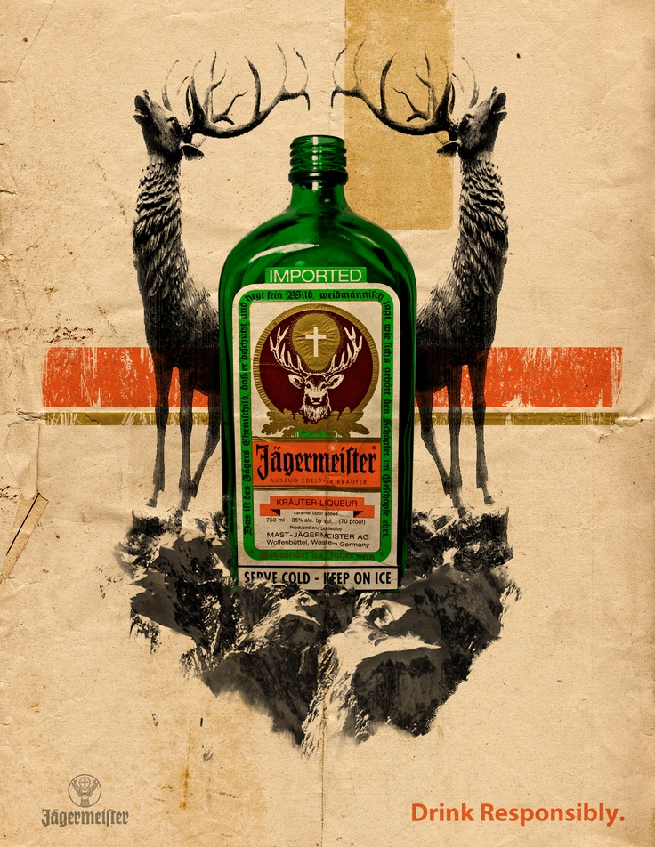I used to be a Jagermeister addict.. No shame here!