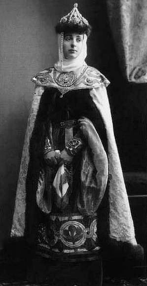 Her Imperial Highness Grand Duchess Alexandra Petrovna of Russia (1838-1900) née Her Imperial Highness Duchess Alexandra of Oldenburg